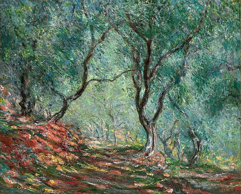 Olive Tree Wood in the Moreno Garden. Claude Oscar Monet
