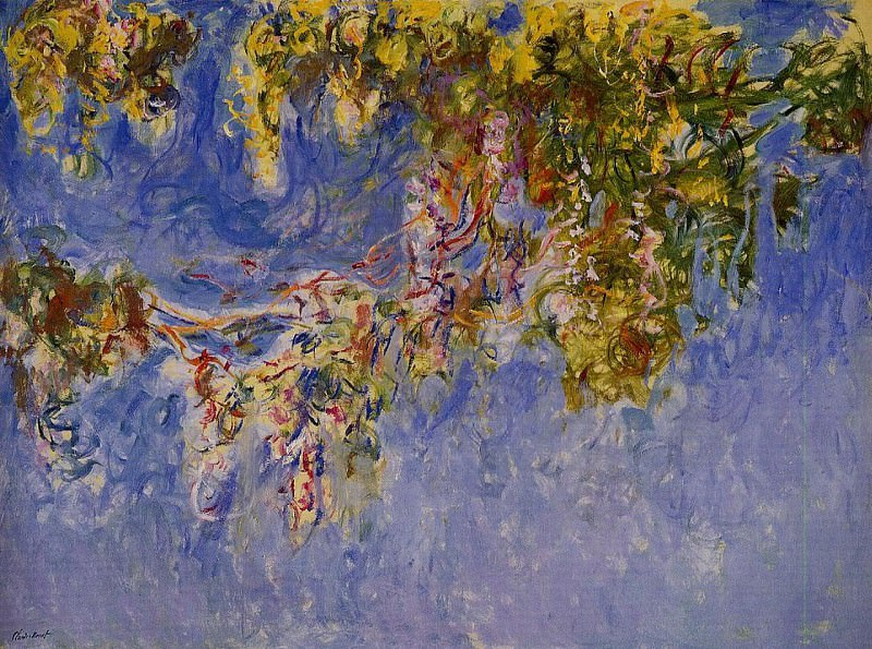 Wisteria 2, 1919-1920. Claude Oscar Monet
