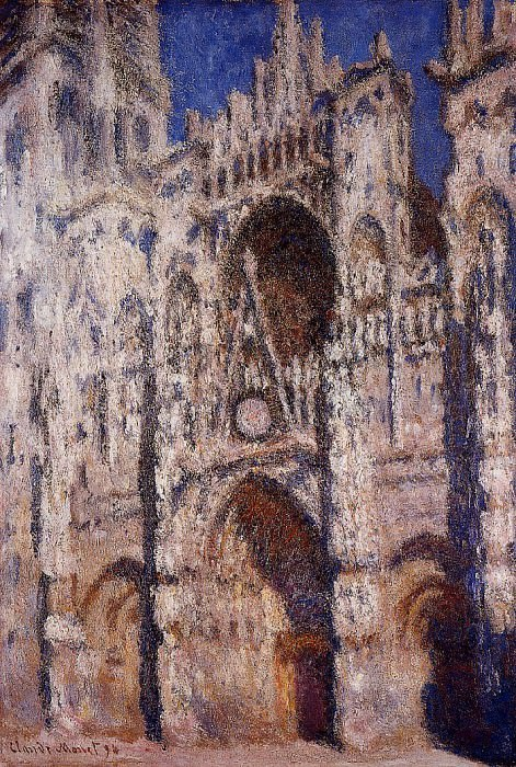 Rouen Cathedral 01. Claude Oscar Monet
