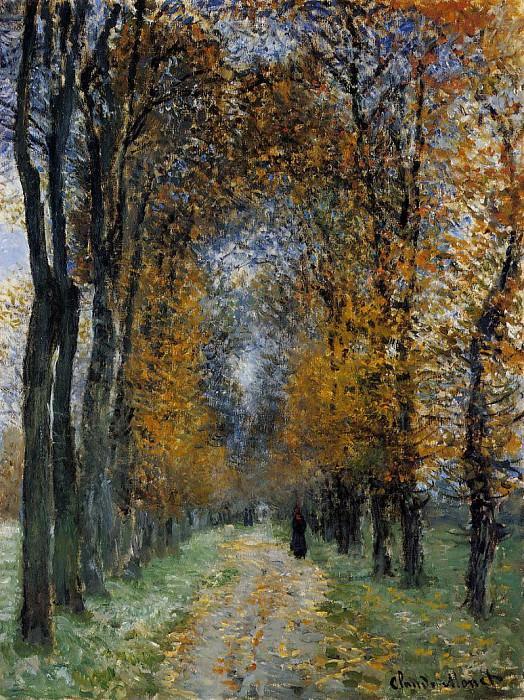 The Avenue. Claude Oscar Monet