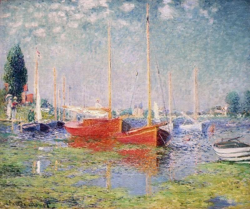 Argenteuil. Yachts 01. Claude Oscar Monet