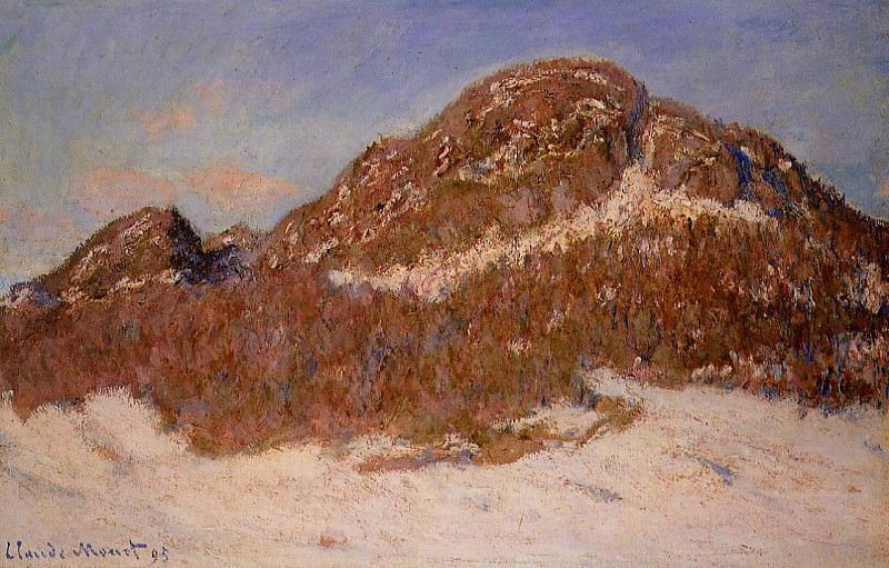 Mount Kolsaas 3. Claude Oscar Monet