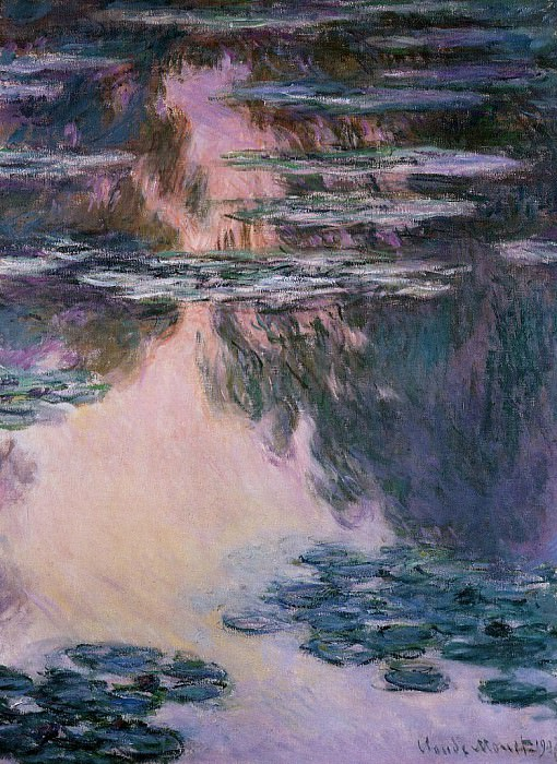 Water Lilies, 1907 11. Claude Oscar Monet
