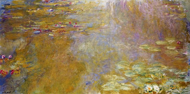 Water Lily Pond, 1917-19 02. Claude Oscar Monet