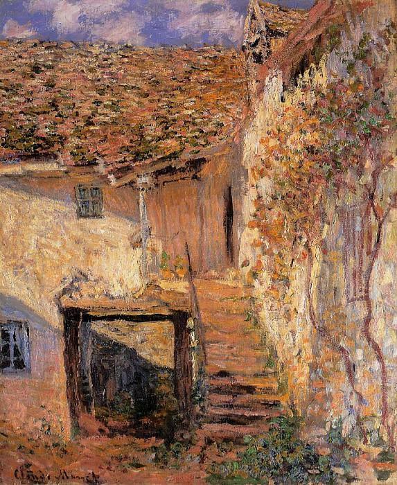 The Steps. Claude Oscar Monet