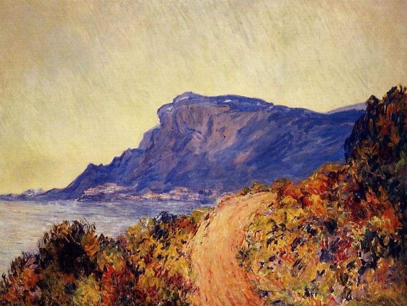 The Red Road at Cap Martin, near Menton. Claude Oscar Monet