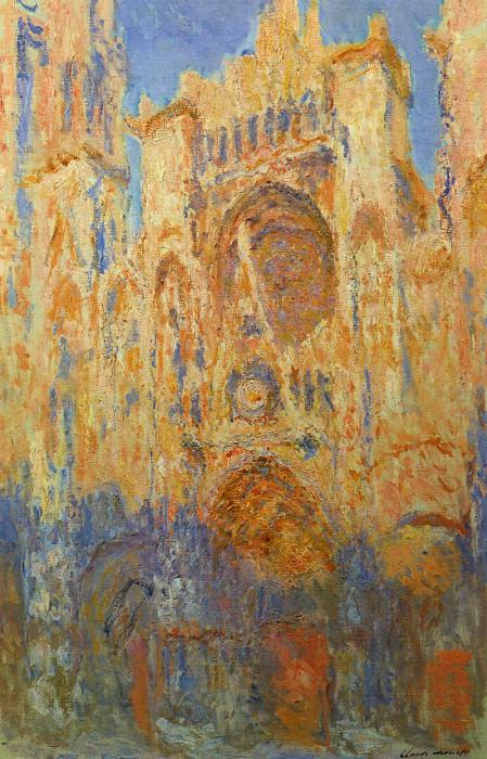 Rouen Cathedral. Claude Oscar Monet