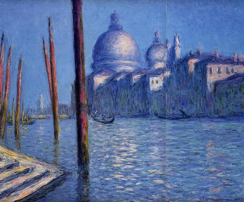 The Grand Canal. Claude Oscar Monet