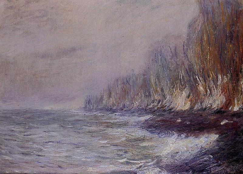 The Effect of Fog near Dieppe. Claude Oscar Monet