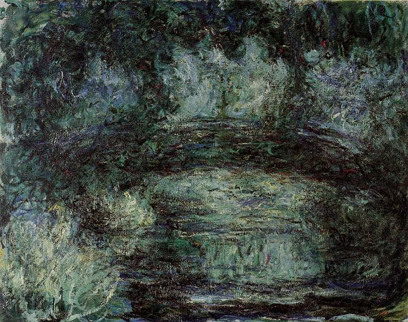 The Japanese Bridge 9. Claude Oscar Monet