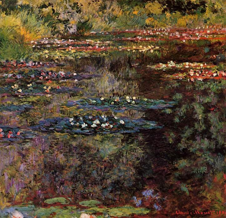 Water Lilies, 1904 05. Клод Оскар Моне