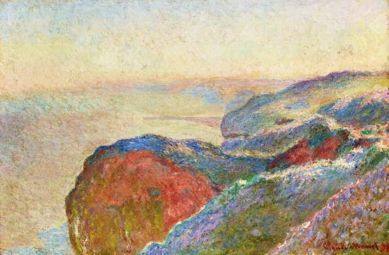 At Val Saint-Nicolas near Dieppe, Morning. Claude Oscar Monet