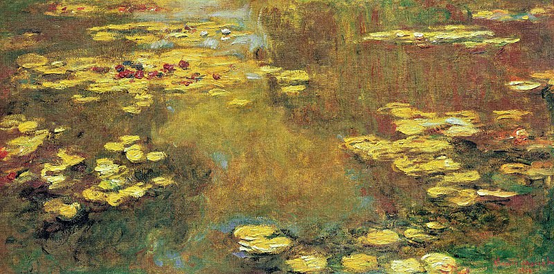 Water-Lily Pond, 1917-19 02. Claude Oscar Monet