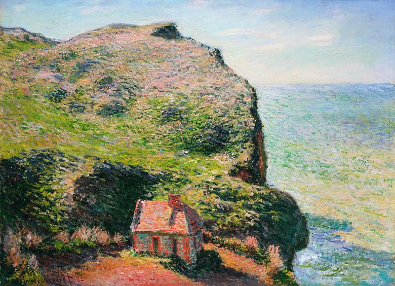 The Custom`s House. Claude Oscar Monet