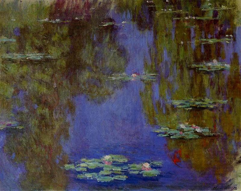 Water Lilies, 1903 03. Claude Oscar Monet