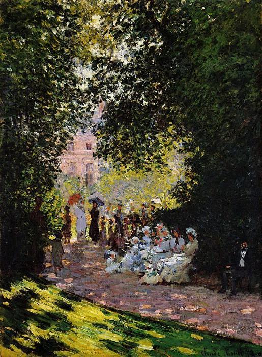 Parc Monceau. Claude Oscar Monet