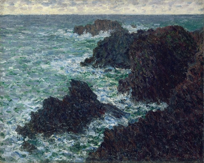 The Cote Sauvate. Claude Oscar Monet