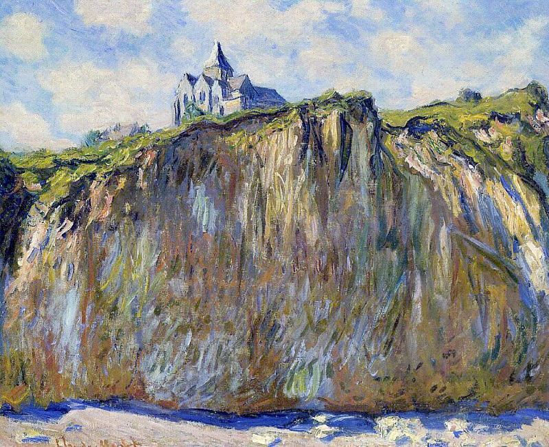 The Church at Varengeville. Claude Oscar Monet