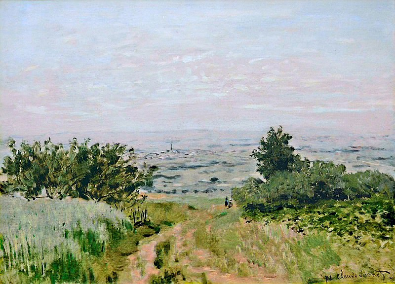 View to the Plain of Argenteuil. Claude Oscar Monet
