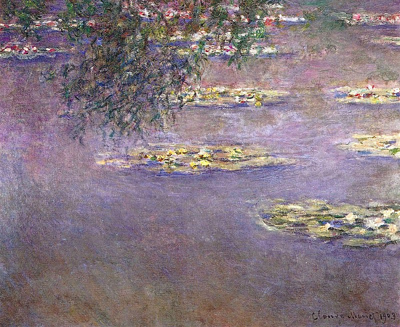 Water Lilies, 1903 02. Claude Oscar Monet