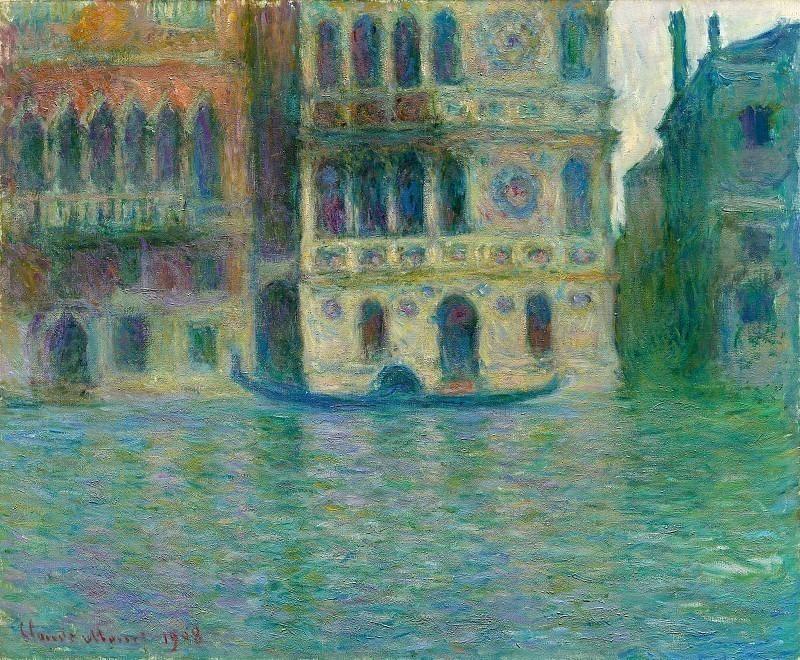 Palazzo Dario. Claude Oscar Monet