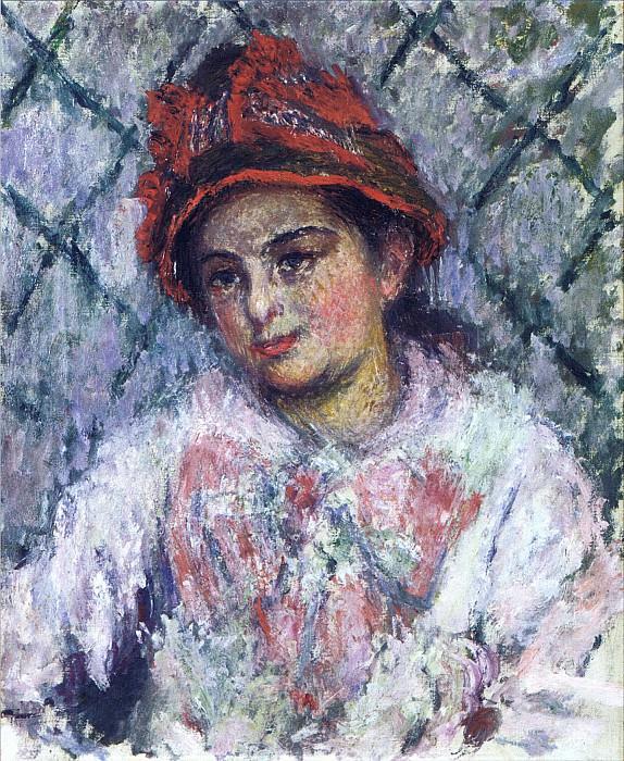 Blanche Hoschede. Claude Oscar Monet