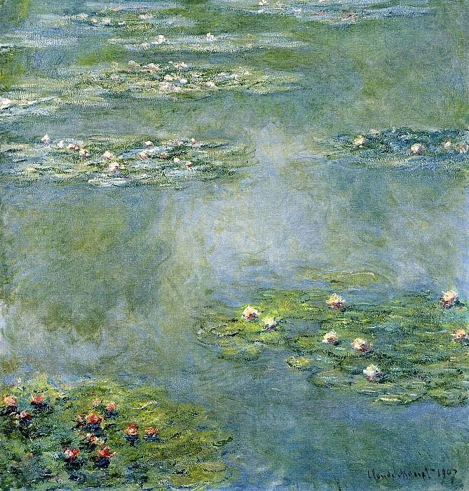 Water Lilies, 1907 07. Claude Oscar Monet