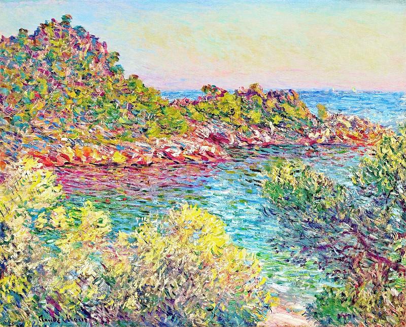 Landscape near Montecarlo. Claude Oscar Monet