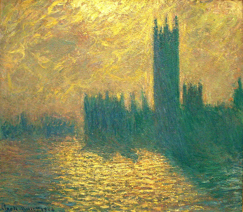 Houses of Parliament. Claude Oscar Monet