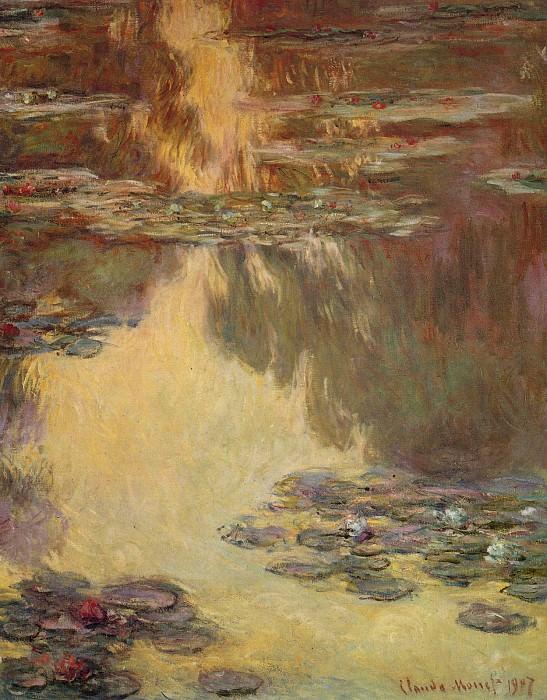 Water Lilies, 1907 03. Claude Oscar Monet