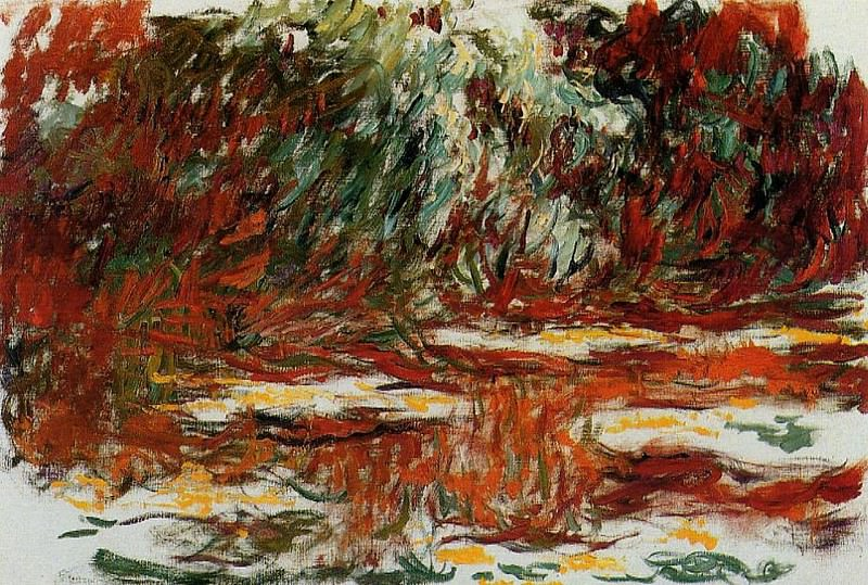 Water Lily Pond. Claude Oscar Monet
