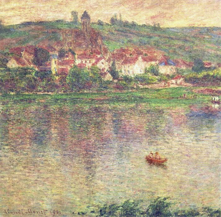 Vetheuil. Claude Oscar Monet