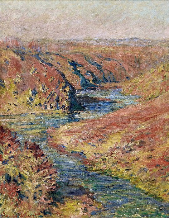 The Valley of Creuse at Fresselines. Claude Oscar Monet