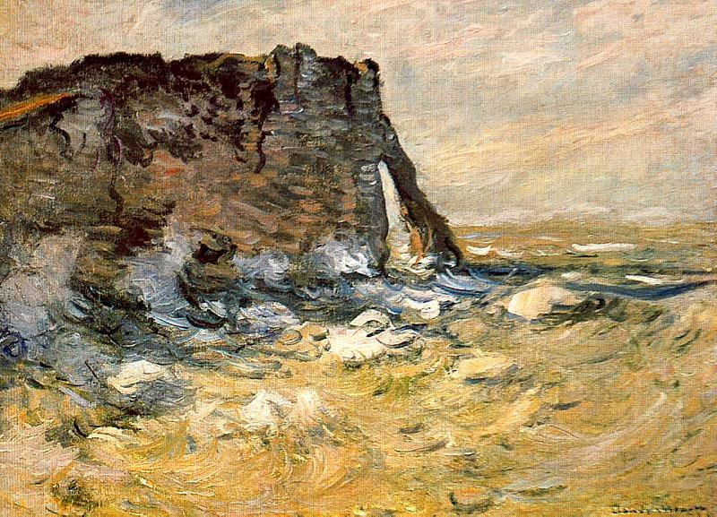 Port d`Aval. Claude Oscar Monet