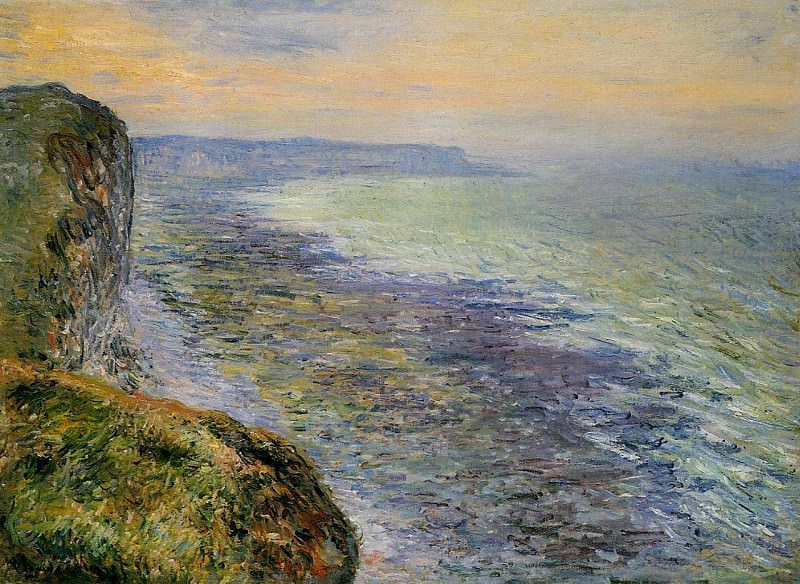 Seascape near Fecamp. Claude Oscar Monet