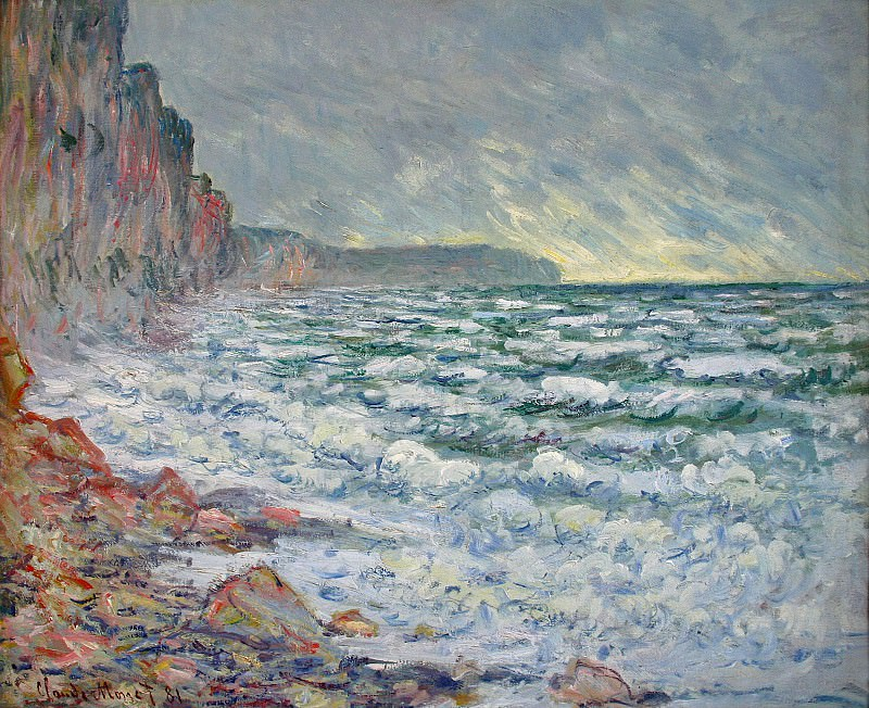 Fecamp, by the Sea. Claude Oscar Monet