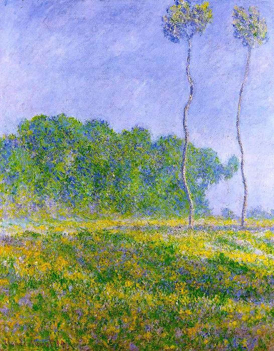 Spring Landscape. Claude Oscar Monet