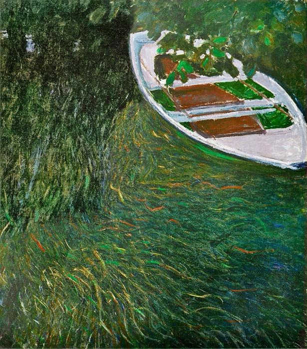 The Row Boat. Claude Oscar Monet