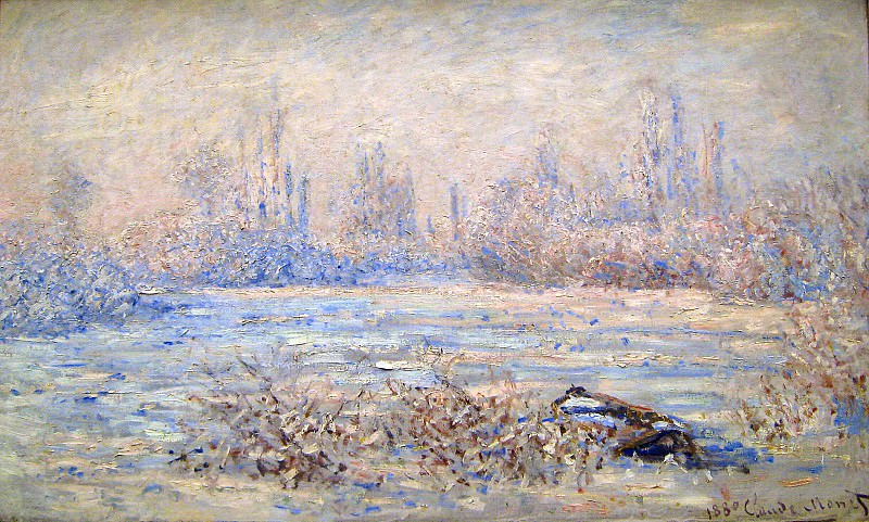 Frost near Vetheuil. Claude Oscar Monet