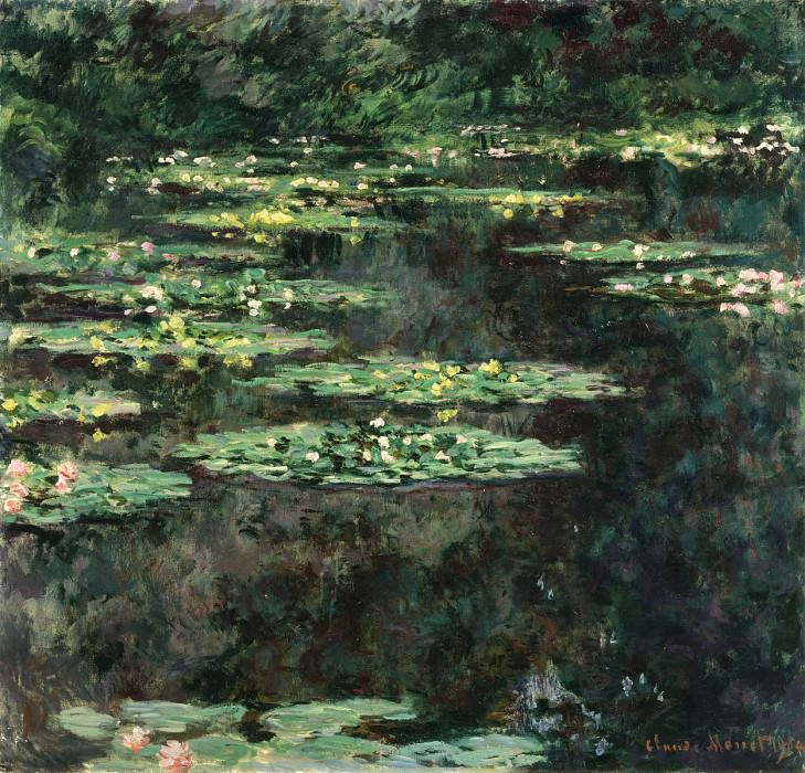 Water Lilies, 1904 04. Claude Oscar Monet