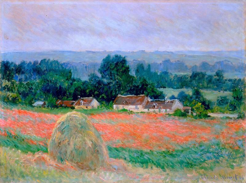 Haystack at Giverny. Claude Oscar Monet