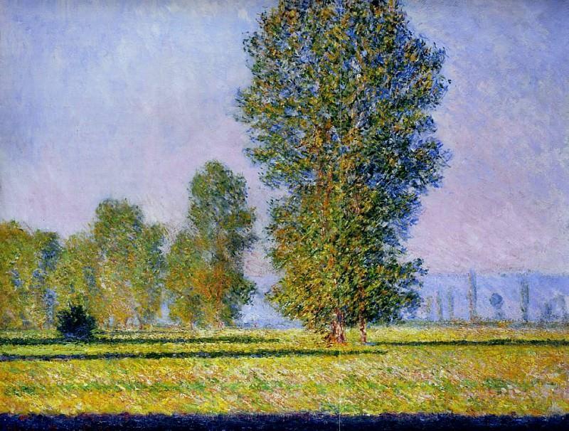Meadow at Limetz. Claude Oscar Monet