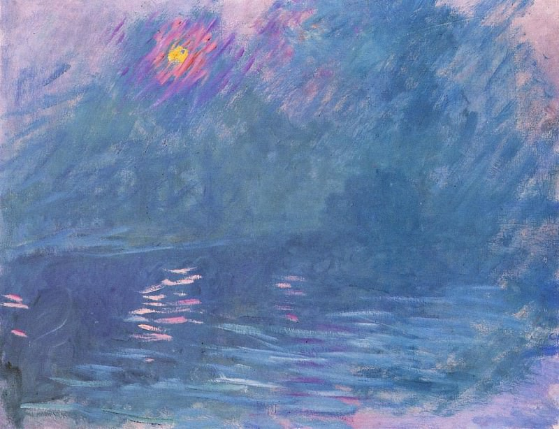 Waterloo Bridge 2. Claude Oscar Monet