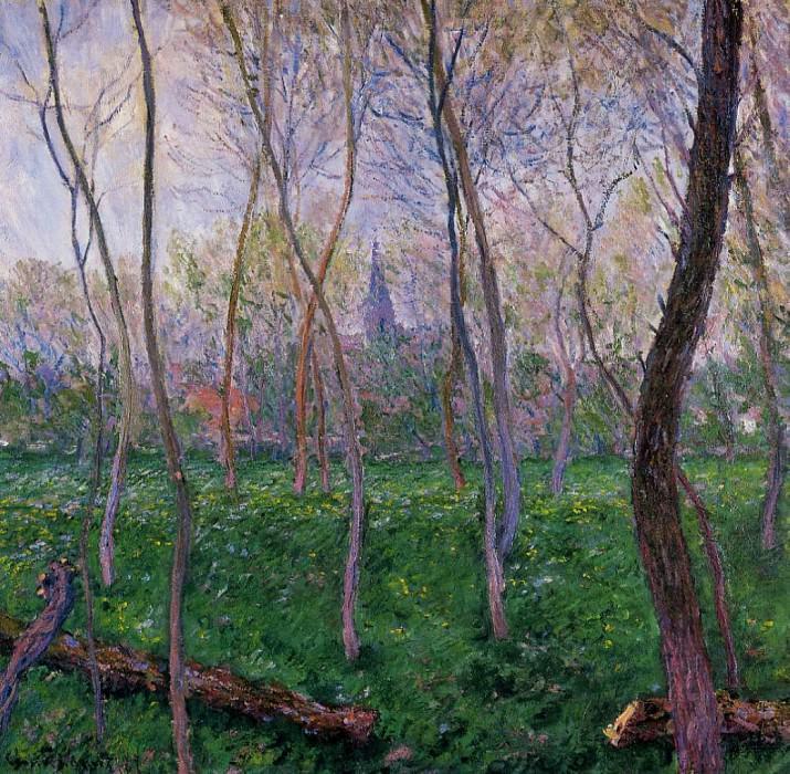 Bennecourt. Claude Oscar Monet