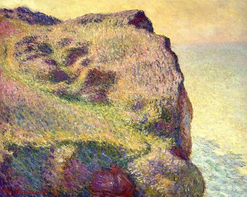 The Pointe du Petit Ailly. Claude Oscar Monet