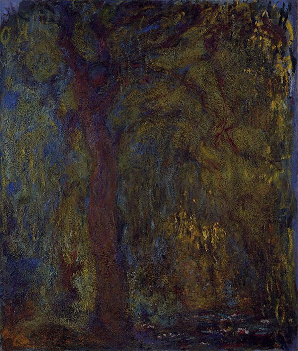 Weeping Willow 5. Claude Oscar Monet