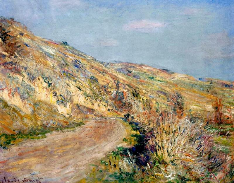 The Road to Giverny. Claude Oscar Monet