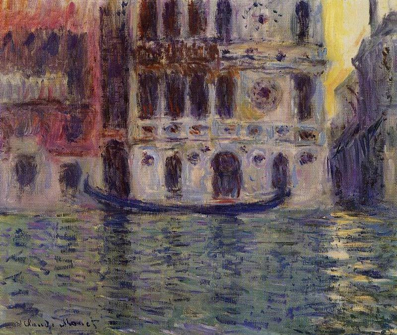 Palazzo Dario 3. Claude Oscar Monet