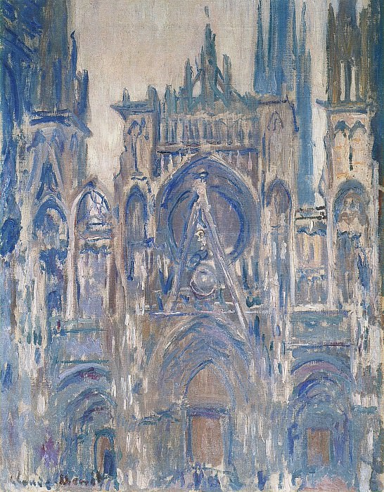 Rouen Cathedral, Study of the Portal. Claude Oscar Monet