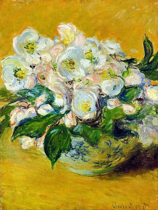 Christmas Roses. Claude Oscar Monet